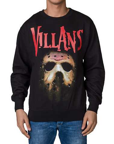 VILLANS MENS Black Clothing / Sweatshirts M