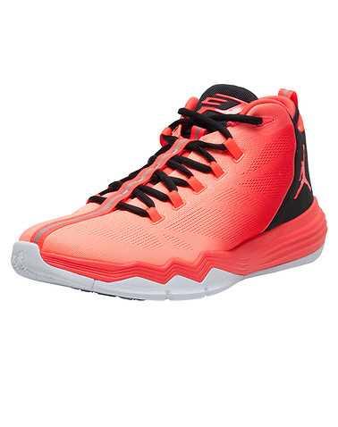 JORDAN MENS Orange Footwear / Sneakers
