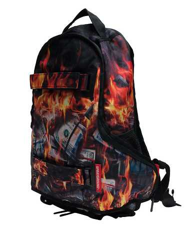 SPRAYGROUND MENS Black Accessories / Backpacks and Bags ONES