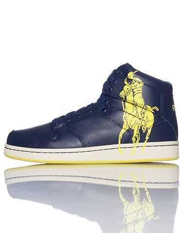 POLO FOOTWEAR MENS Navy Footwear / Casual 9.5