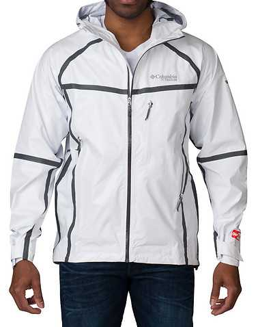 COLUMBIA MENS White Clothing / Outerwear