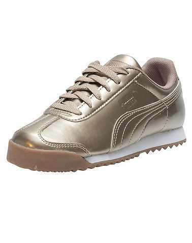 PUMA GIRLS Gold Footwear / Sneakers 3Y