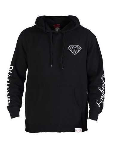 DIAMOND SUPPLY COMPANY MENS Black Clothing / Hoodies XL
