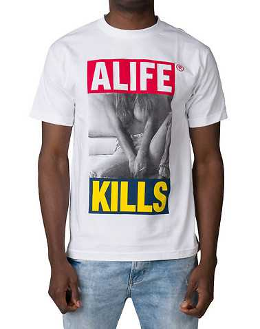 ALIFE MENS White Clothing / Tops S