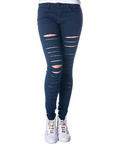 BOOM BOOM JEANS WOMENS Dark Blue Clothing / Jeans