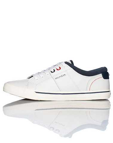 TOMMY HILFIGER MENS White Footwear / Casual 11.5