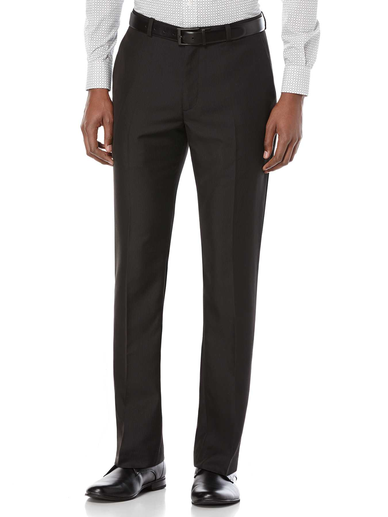 Perry Ellis Slim Fit Stripe Twill Suit Pant