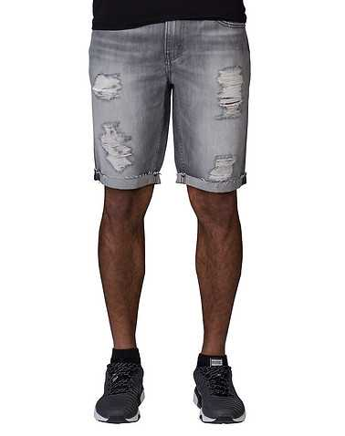 LEVIS MENS Grey Clothing / Denim Shorts 30