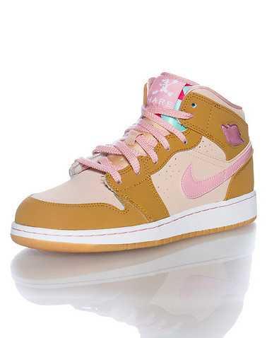 JORDAN GIRLS Beige-Khaki Footwear /