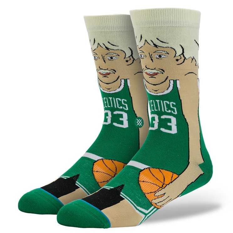 Stance Bird - Cartoon GRN L nba legends Socks