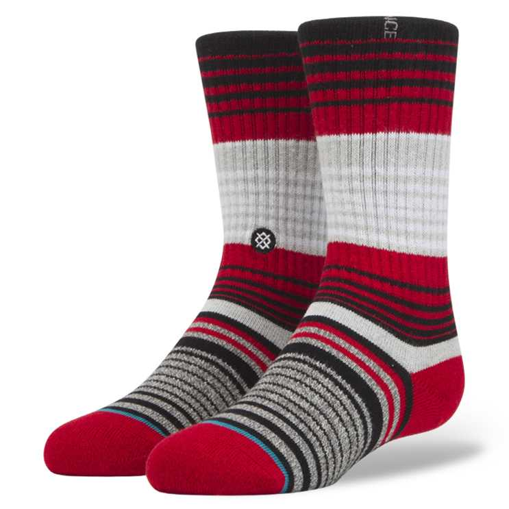 Stance Cardinal Boys RED M Boys Socks