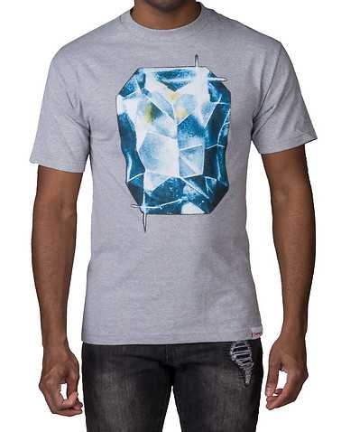 DIAMOND SUPPLY COMPANYENS Grey Clothing / Tees and Polos