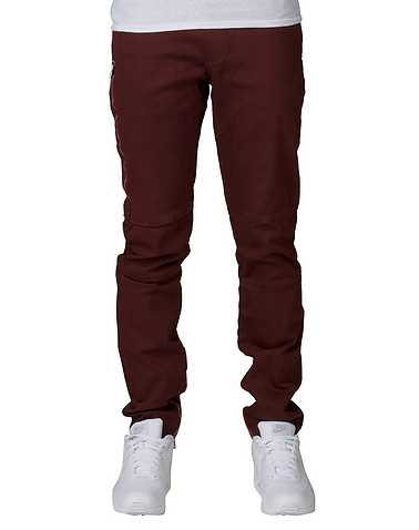 EMBELLISH MENS Burgundy Clothing / Pants