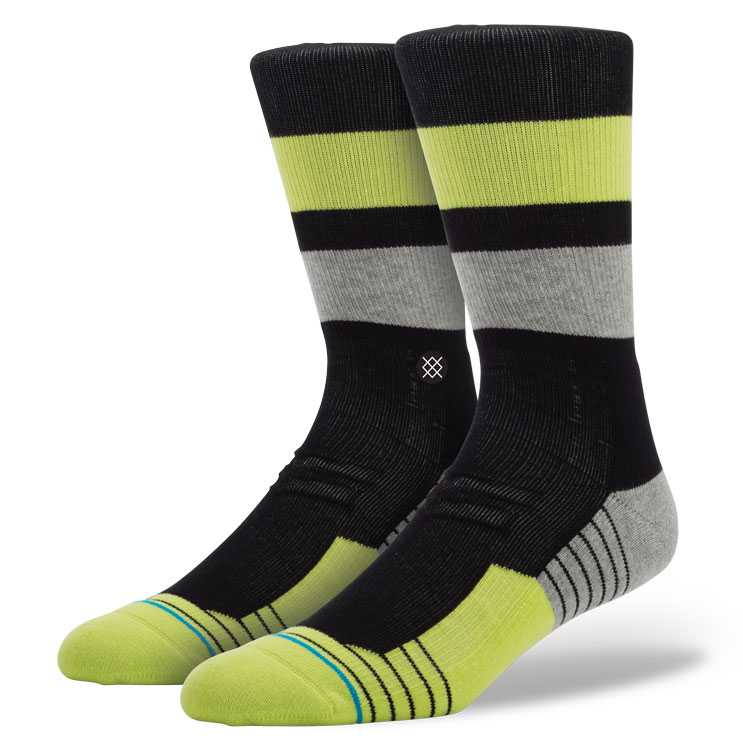 Stance Relic Crew BLK S/M FUSION ATHLETIC Socks
