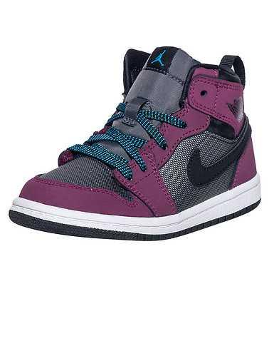 JORDAN BOYS Dark Purple Footwear / Sneakers