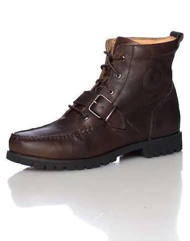 POLO FOOTWEAR MENS Dark Brown Footwear / Boots 10