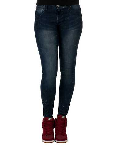 VANILLA STAR WOMENS Dark Blue Clothing / Jeans
