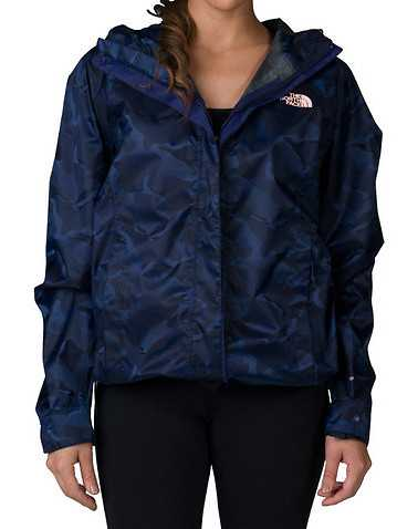 THE NORTH FACE WOMENS Blue Clothing /ight Jackets