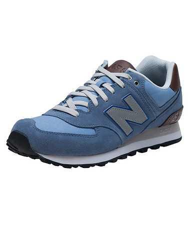 NEW BALANCE MENS Medium Blue Footwear / Sneakers