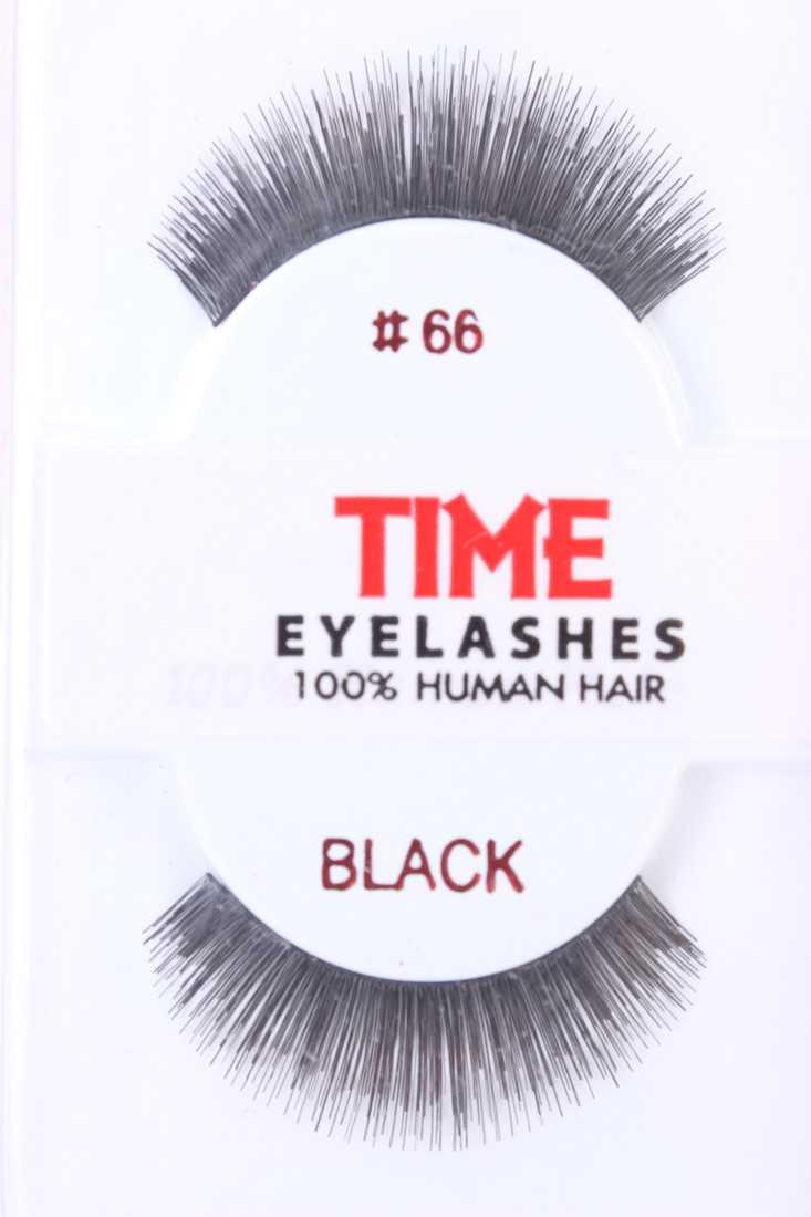 Black Thick Full Glamour Human Hair Eyelashes