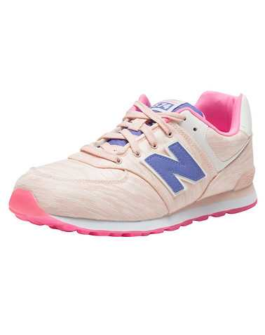 NEW BALANCE GIRLS Pink Footwear / Sneakers
