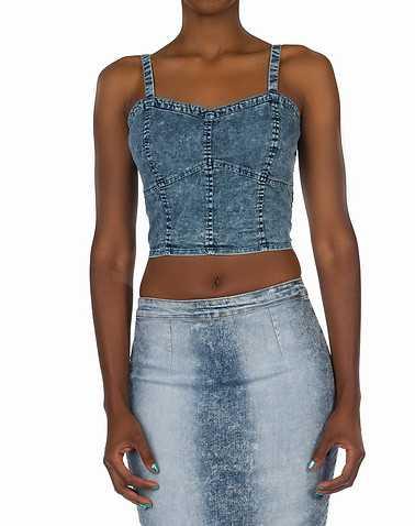 ESSENTIALS WOMENS Blue Clothing / Tops L