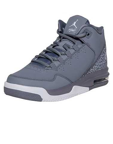 JORDAN BOYS Grey Footwear / Sneakers 5.5Y