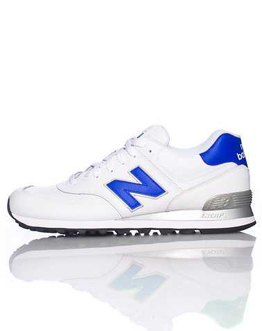 NEW BALANCE MENS White Footwear / Sneakers
