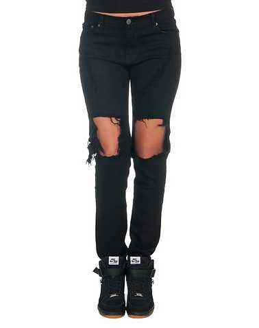 APHRODITE WOMENS Black Clothing / Jeans