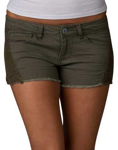 VANILLA STAR WOMENS Green Clothing / Casual Shorts