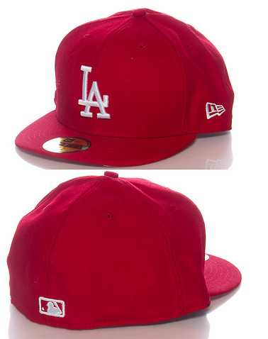 NEW ERA MENS Red Accessories / Caps Fitted 734