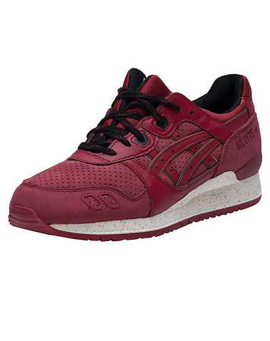 ASICS MENS Burgundy Footwear / Sneakers