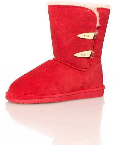 BEARPAW WOMENS Red Footwear / Boots 7