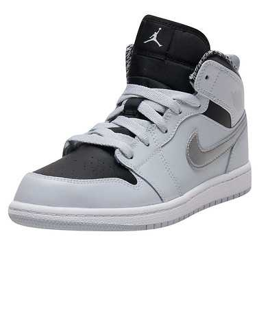 JORDAN GIRLS Silver Footwear / Sneakers