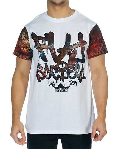 FLY SOCIETY MENS White Clothing / Tees and Polos XXL