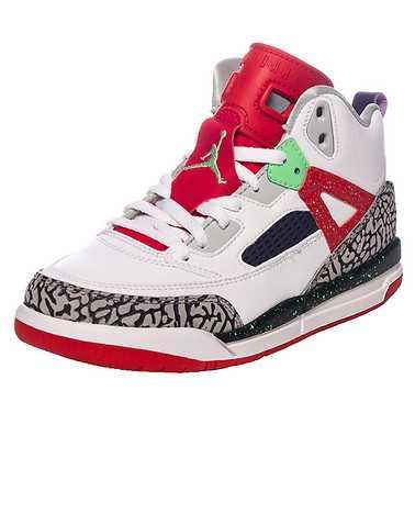 JORDAN BOYS Multi-Color Footwear / Sneakers 13C