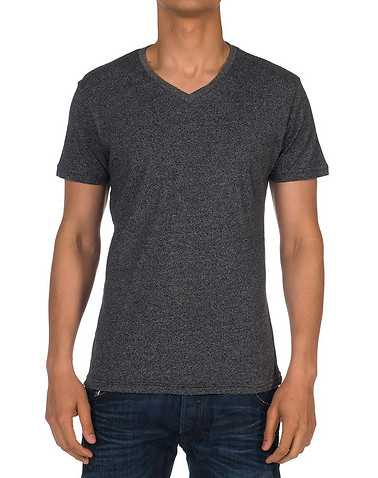 ARTISTRY IN MOTION MENS Dark Grey Clothing / Tees and Polos S