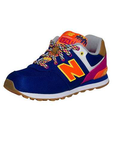 NEW BALANCE BOYS Purple Footwear / Sneakers 2Y