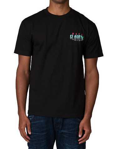 WAVY MENS Black Clothing / Tops
