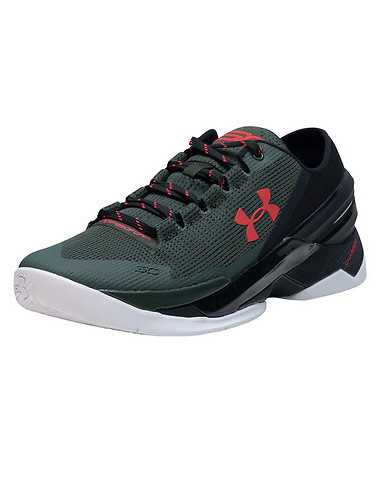 UNDER ARMOUR MENS Green Footwear / Sneakers