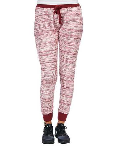 ESSENTIALS WOMENS Burgundy Clothing / Bottoms L