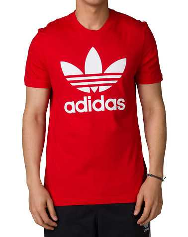 adidas MENS Red Clothing / Tops