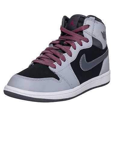 JORDAN GIRLS Grey Footwear / Sneakers 3Y