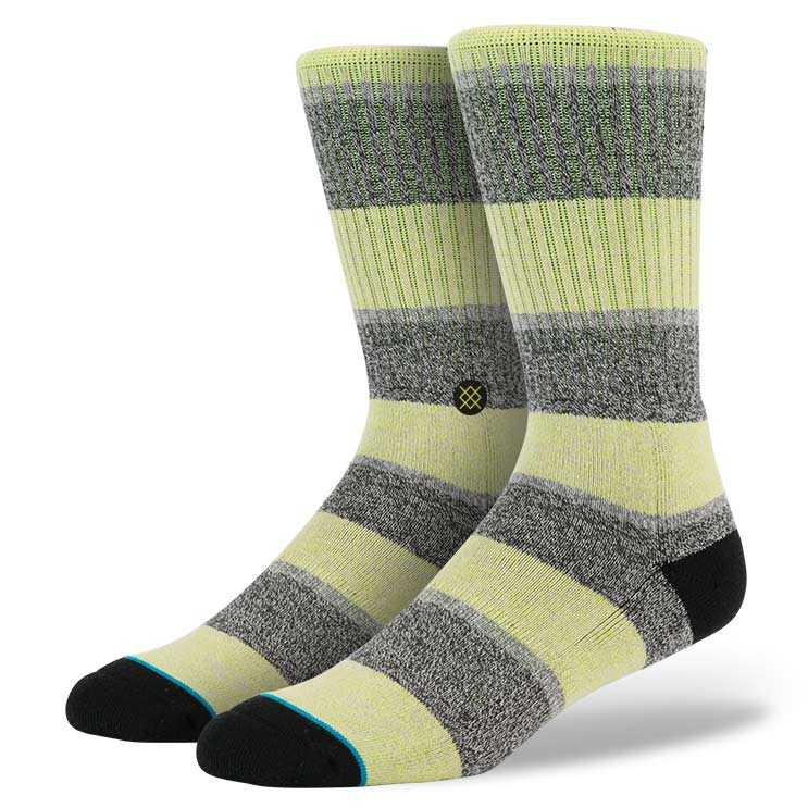 Stance Electric (Lime) Dwyane Wade Socks