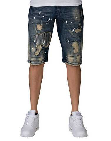 HERITAGE MENS Blue Clothing / Denim Shorts