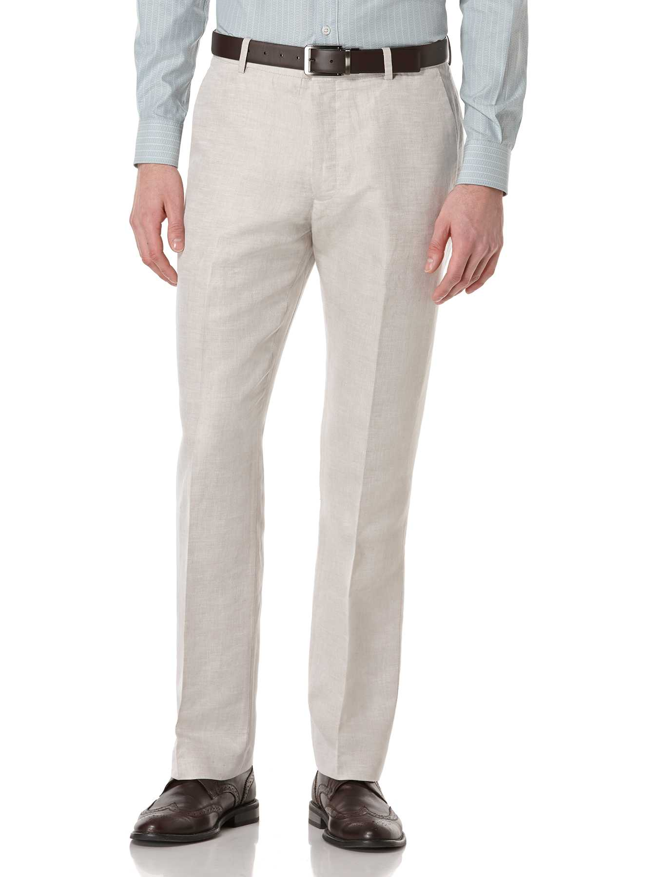 Perry Ellis Big and Tall Linen Cotton Suit Pant