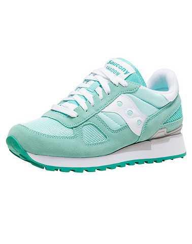 SAUCONY WOMENS Medium Green Footwear / Sneakers