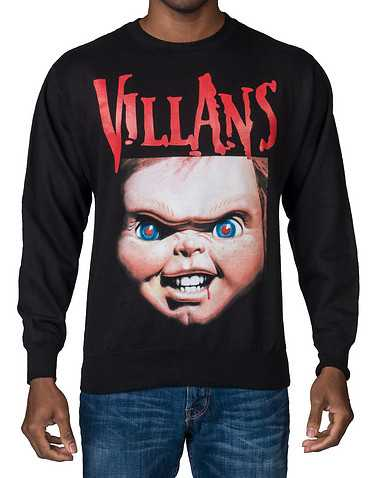 VILLANS MENS Black Clothing / Sweatshirts