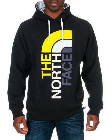 THE NORTH FACE MENS Black Clothing / Sweatshirts S