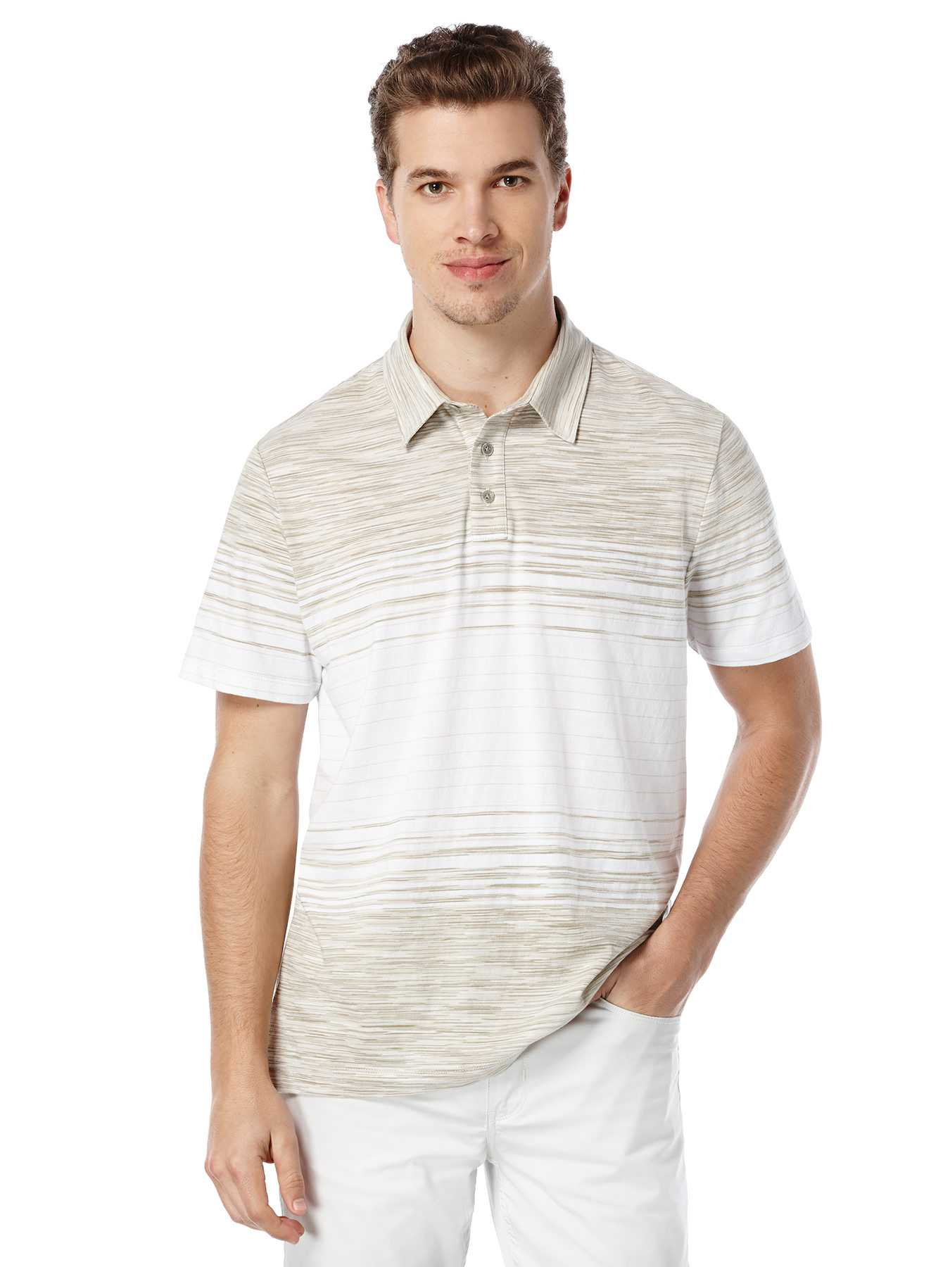 Perry Ellis Short Sleeve Space Dyed Polo